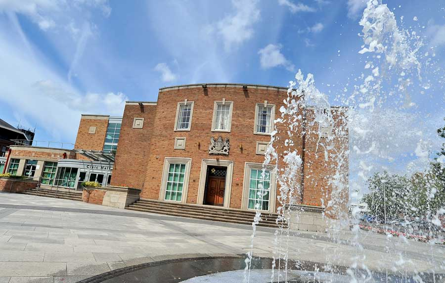 Ellesmere Port Civic Hall