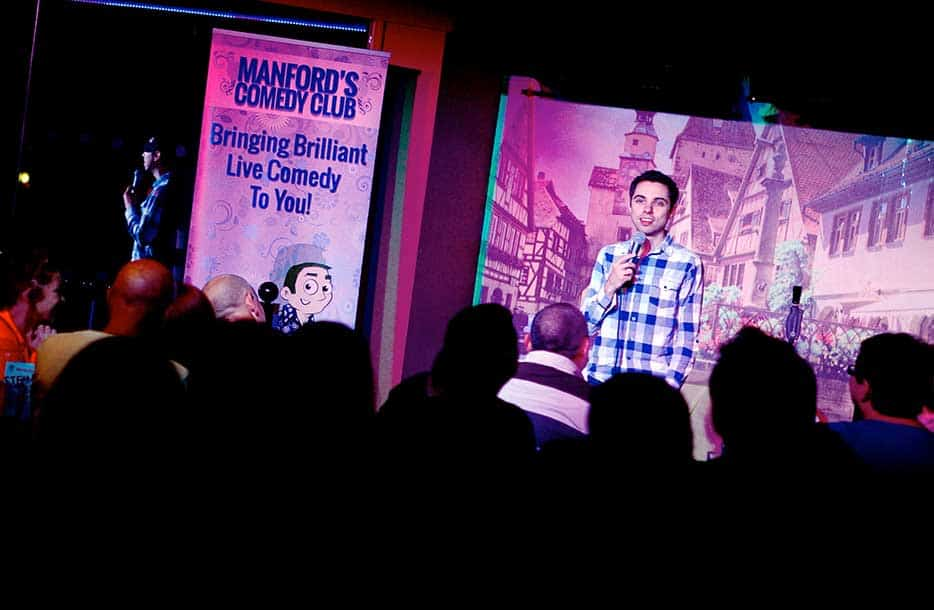 Manfords Comedy Club debut proves a hit