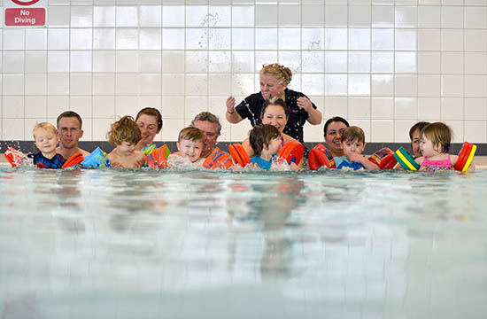 Brio Leisure Swimming Lessons and the ASA Lesson structure