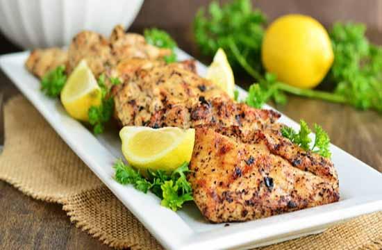 Brio Bites – glazed lemon pepper chicken