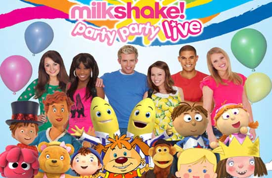 Milkshake Live coming to Northwich Memorial Court!