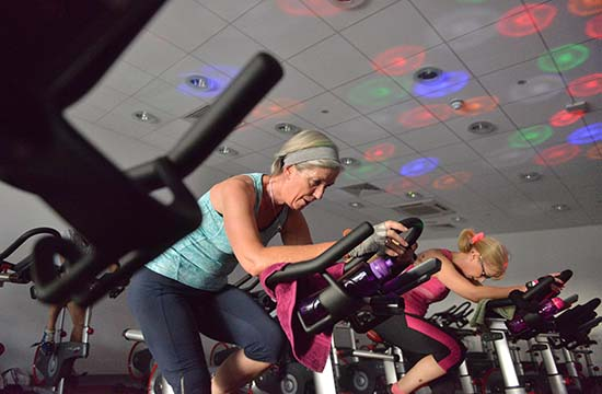 The benefits of indoor Spin classes