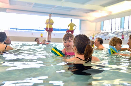 The importance of learning to swim