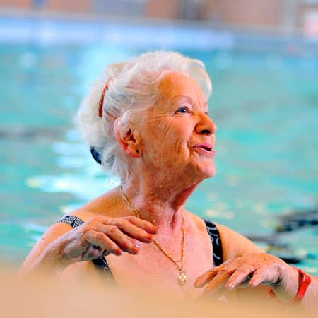 Over 75's exercise free