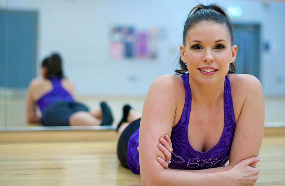 Bottoms up for Barre workout