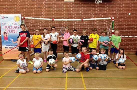 Holiday sports camps give young talent chance to shine
