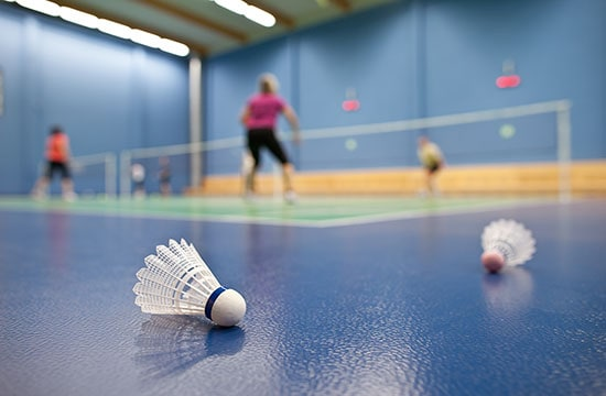 Rally Behind Badminton at your local Brio centre!