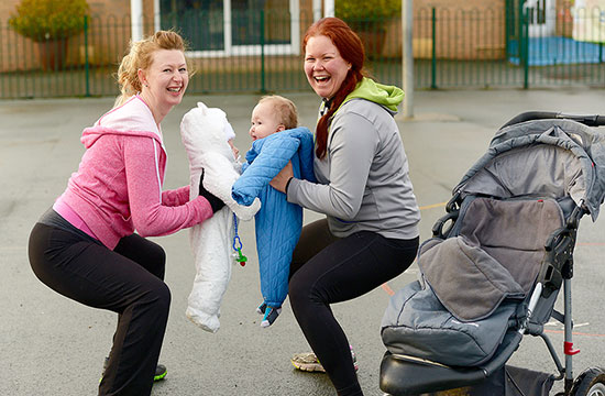 New mums can get fit with their local Brio centre!