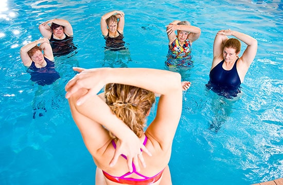 Our Top 4 Water Workout Classes!