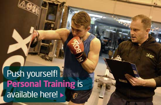 Personal Training at this centre