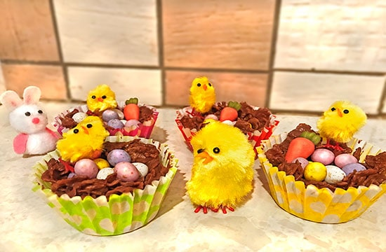 5 Steps to Easter Nests!