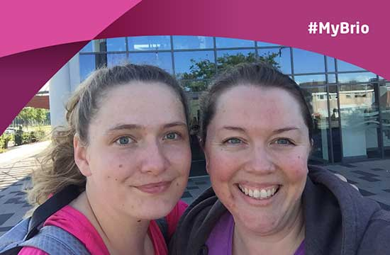 #MyBrio – Kate's Fitness Class Quest!