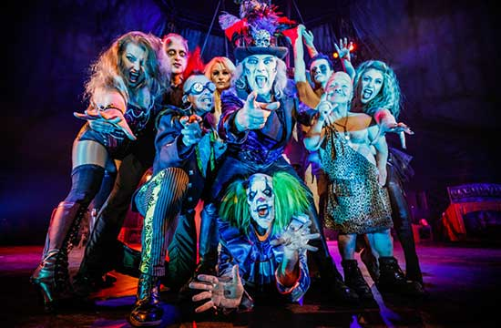 Roll up for the Circus of Horrors!
