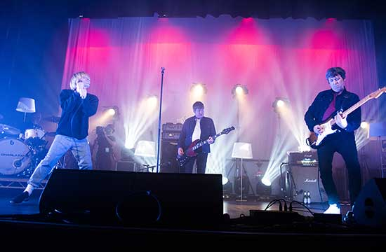 The Charlatans' Homecoming to Northwich Memorial Court!