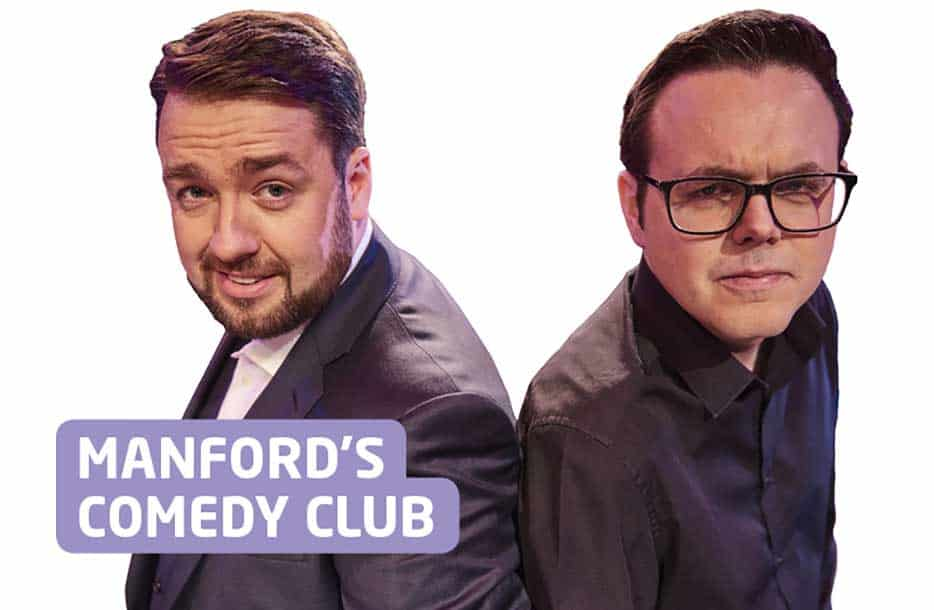 Manford's Comedy Club is back at Ellesmere Port Civic Hall!