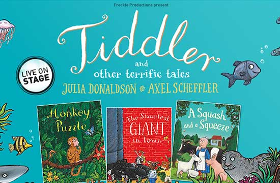 Tiddler and Other Terrific Tales is coming to life this August!