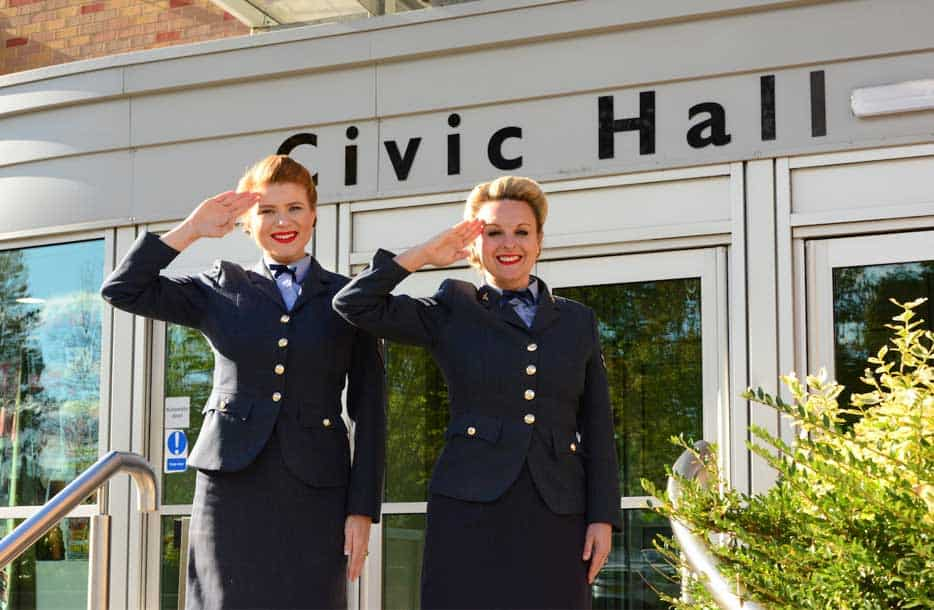 The D-Day Darlings are coming to Ellesmere Port Civic Hall!