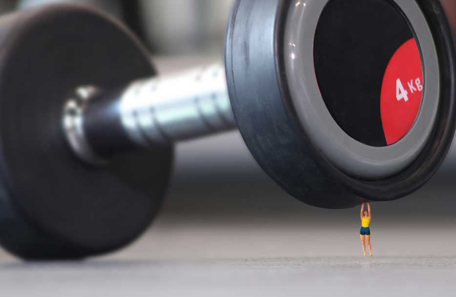 The perils of using children's toys as your fitness inspiration