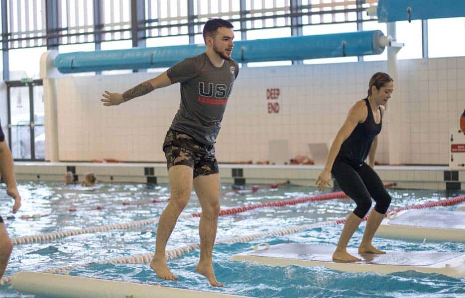Jump on board with our fantastic new Water Workouts!